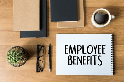 image of employee benefits program package